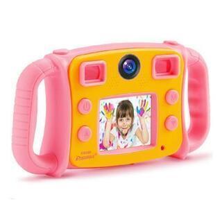 子供用デジタルカメラ デュアルカメラ 1080P録画 2イ…