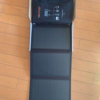 A4サイズのソーラーパネル*災害*アウトドア*充電に便利