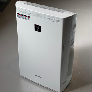SHARP 加湿機能付き空気清浄機