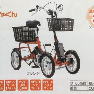 四輪、国内初、電動アシスト自転車