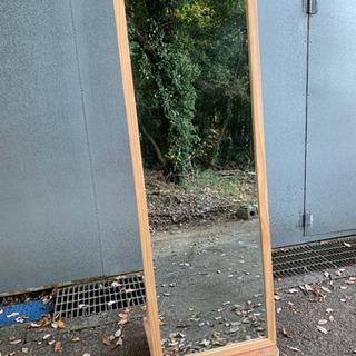 木製ジャンボミラー   高さ170㎝×幅60㎝