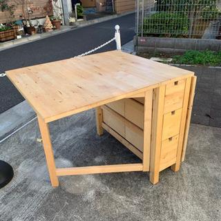 IKEA折りたたみ式、ダイニングテーブル