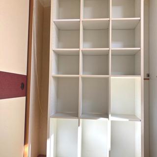 本棚 ニトリ購入の画像