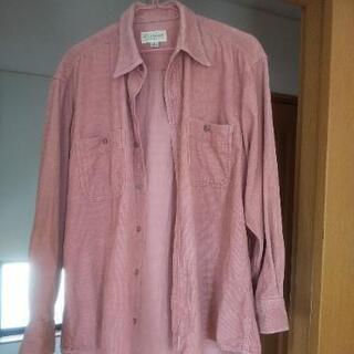 コーデュロイ製シャツ