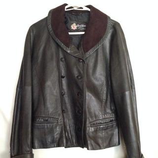 💐さらにさらに値下げました🌷スペイン製 本皮ジャケット