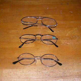 老眼鏡 無料です