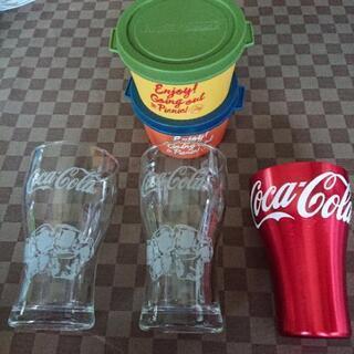 コカ・コーラ  グラスなど