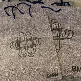 未使用 BMW レア紙袋2種4袋 ブランド紙袋 ショッパー 車