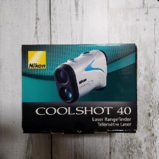 ニコン COOLSHOT40 ゴルフレーザー距離計 クール…