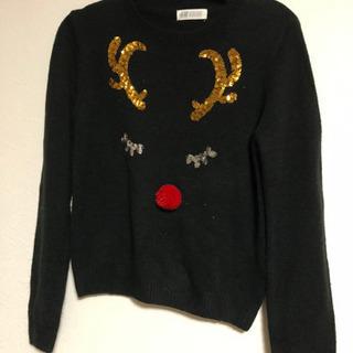 H&M セーター 150センチ トナカイ
