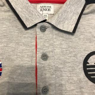 アルマーニの子供のポロシャツです