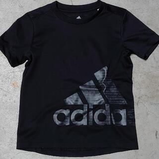 更に値下げ❗130㌢adidasアディダス Tシャツ黒