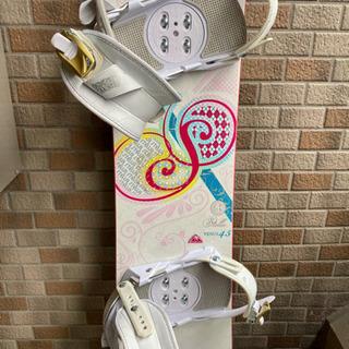 【BURTONのブーツ付き】スノーボード145センチ - 大阪市