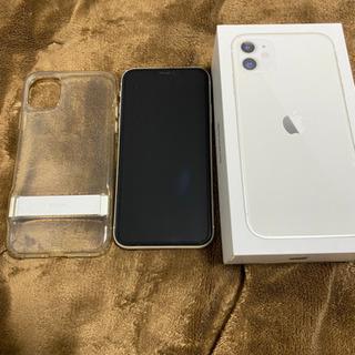 12月セール中 !美品 iPhone11 128GB SIMフリー ホワイトの画像