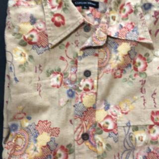 新品 男女兼用 和柄 半袖シャツ 他にもあり