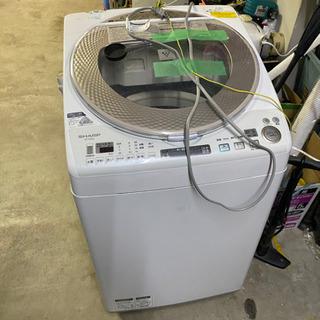 2016年 シャープ 9k 洗濯機  ジャンク 無料