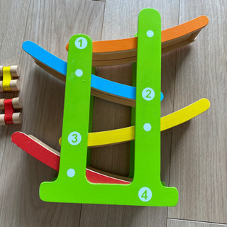 DISCOVERY☆木製スロープレーサー 知育玩具おもちゃ