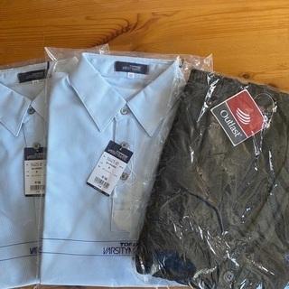 福島聖光学院男子半袖ポロシャツ2枚カーディガン1枚