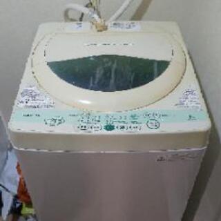 東芝 洗濯機 5kg