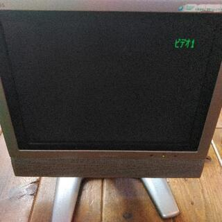 シャープ液晶カラーテレビモニター