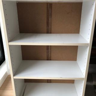 白い本棚 無料