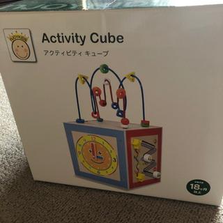 知育おもちゃ アクティビティキューブ