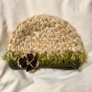 #63 ニット帽 帽子