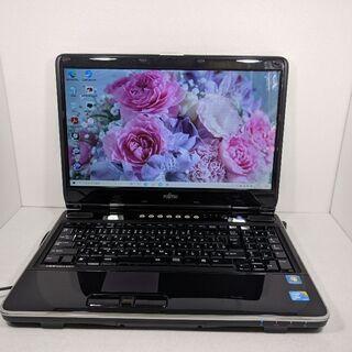 富士通ノートPC Core2 メモリー4GB HD500GB D...