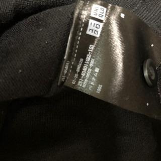 ユニクロカーディガン黒 Lサイズ
