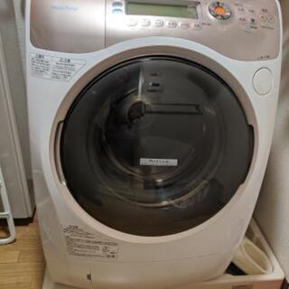 ドラム式洗濯機。ジャンク品です。