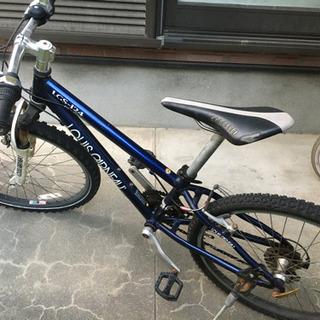 お話し中。ルイガノ LGS-J24 ブルー マウンテンバイク 子...