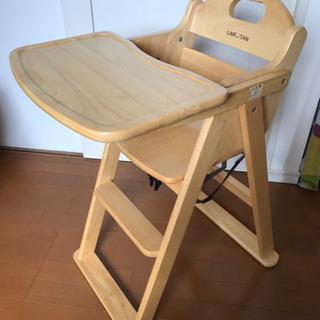 KATOJI 木製ベビーチェア LARTANハイチェア