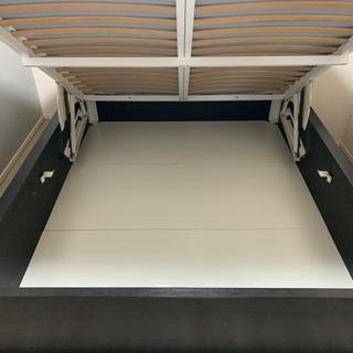IKEA マルム 大容量収納 ベッドフレームのみ