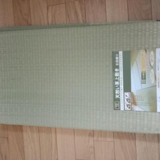 【新品】天然い草 畳上敷き 江戸間6畳