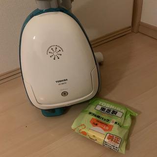 TOSHIBA掃除機 VC-NK7D 紙パック2個付き