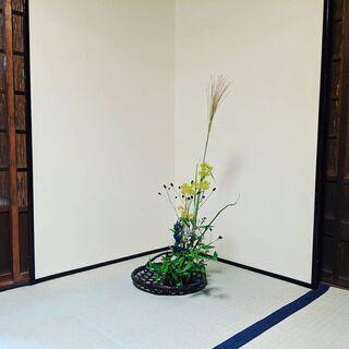 【生け花教室】奈良県天理市 毎月第2・4木曜日 午後13時~19時