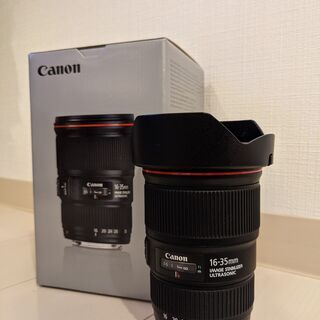 【ネット決済・配送可】Canon EF16-35mm F4 L ...