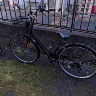 自転車 27インチ シマノ6段ギア