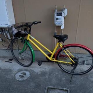 自転車 シマノ6段ギア 26インチ