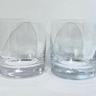 【重厚感◎】ロックグラス 2個セット【奈良県全域ご相談くだ…