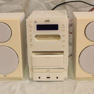 JVCケンウッド CDコンポ 2013年製 CD動かず