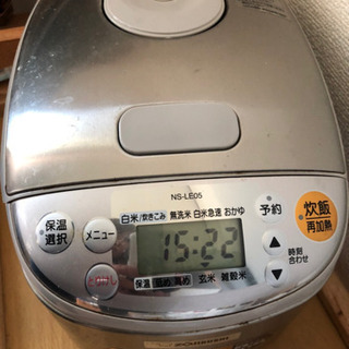 冷蔵庫、電子レンジ、炊飯器(引き渡し決定) - 家電