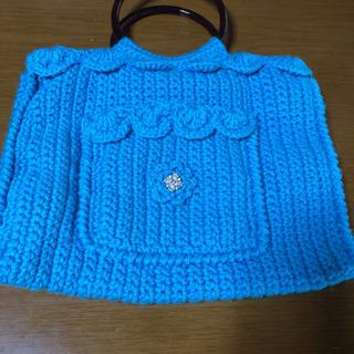 手編みのバック