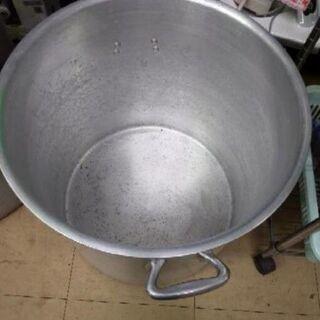 中古品 アルミ寸胴鍋 130  - 生活雑貨