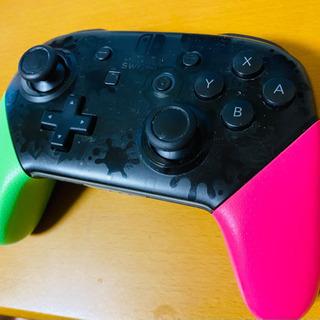 Nintendo Switch Proコントローラー スプラトゥ...