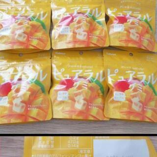 ピュアラルグミ マンゴー味6袋