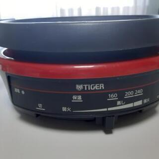 電気鍋 タイガー2011年製 - 家電