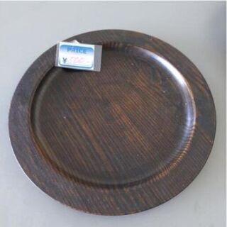 木製大判木皿 中古品