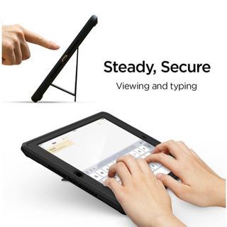 iPad 9.7 ケース カバー 2018/2017モデル対応 ガラスフィルム 1枚入り 360度 全面保護 ケース 耐衝撃 衝撃吸収 − 沖縄県