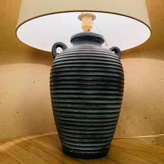 値下げ!アンティーク 大型テーブルランプ 卓上ランプ 陶器 ホテル 店舗什器 - 栗東市